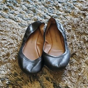 Comfy leather flats!